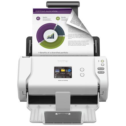Brother Desktop Scanner ADS2700W Colour, Wireless