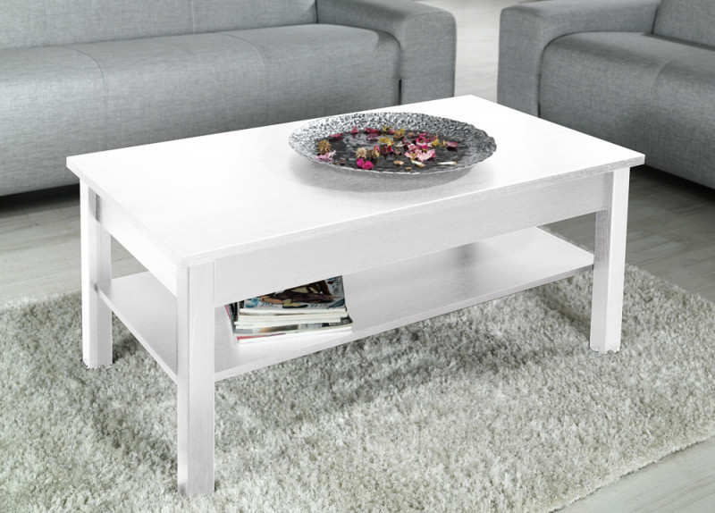 Cama UNI BI kavos staliukas, staliukas prie lovos, kitas mažas staliukas Stačiakampio 4 kojos